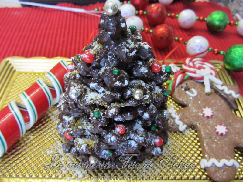 La cuisine en f te de sakya sapin d coration en chocolat for Decoration 31 decembre