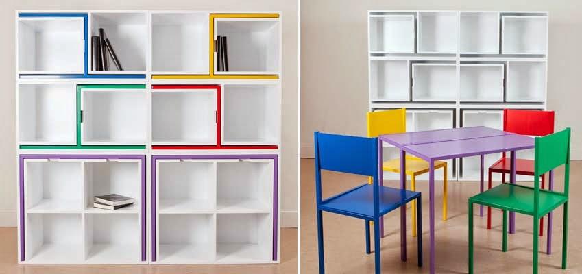 Una recopilaci n de muebles transformables espacios en madera for Muebles que se esconden