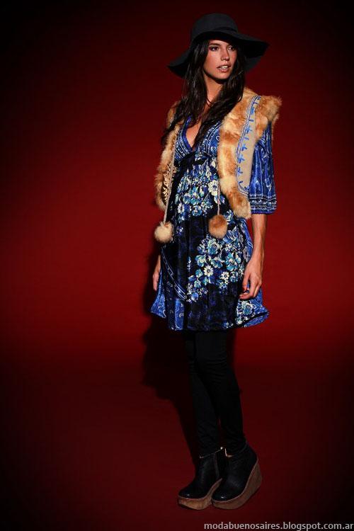 Chalecos de piel moda invierno 2013 Sophya