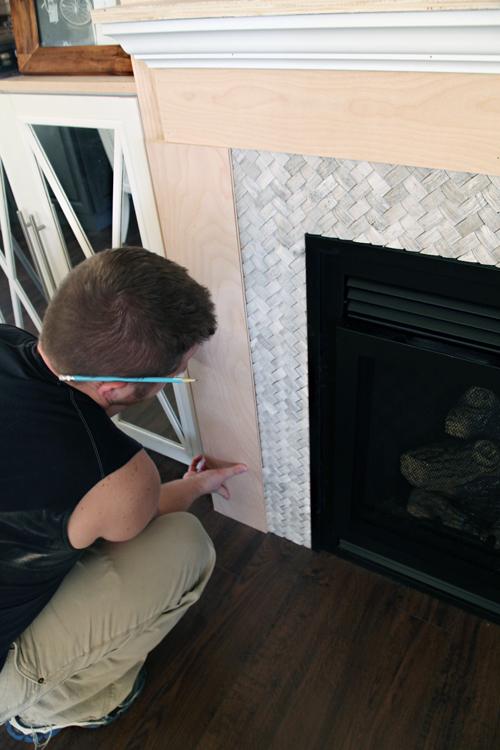 Iheart organizing diy fireplace built in tutorial solutioingenieria Images