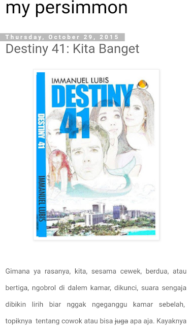 DESTINY 41 (2015)