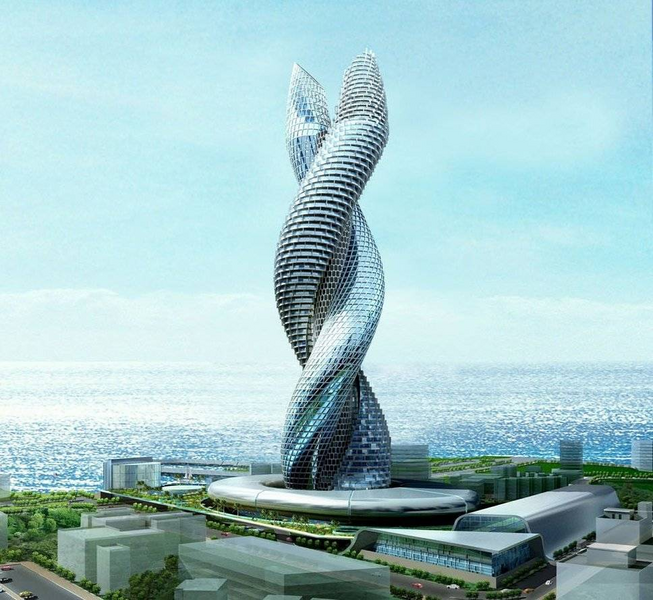 Snake Tower Kuwait Facts Pod