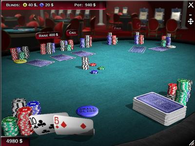 "Games ""Texas Hold'em Poker Deluxe Portable"""