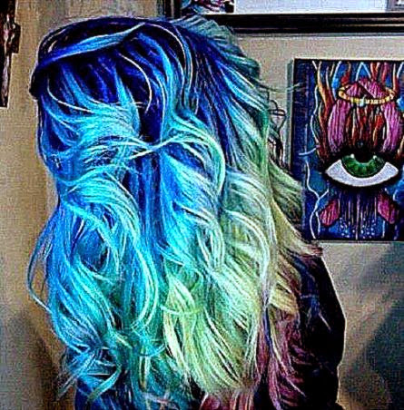 Crazy Hair Color Pictures | Free Coloring Pictures