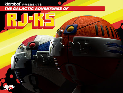 RJ-K5 Astrofresh Basketball Droyds by JK5