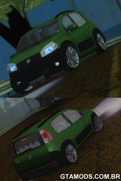 Novo Fiat Uno Way Edit