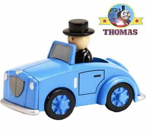 Boys blue car Sir Topham Hatt Thomas the tank engine cake birthday decoration train cake baking idea