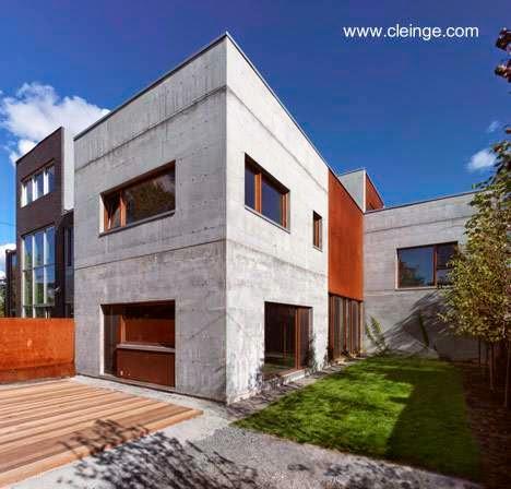 Residencia en Montreal inspirada en el brutalismo arquitectónico en Canadá