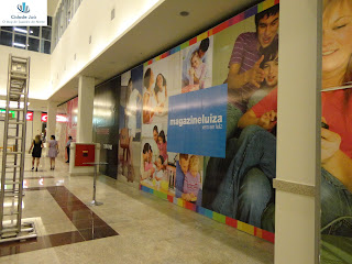 Espaço do Magazine Luiza no Cariri Gander Shopping.