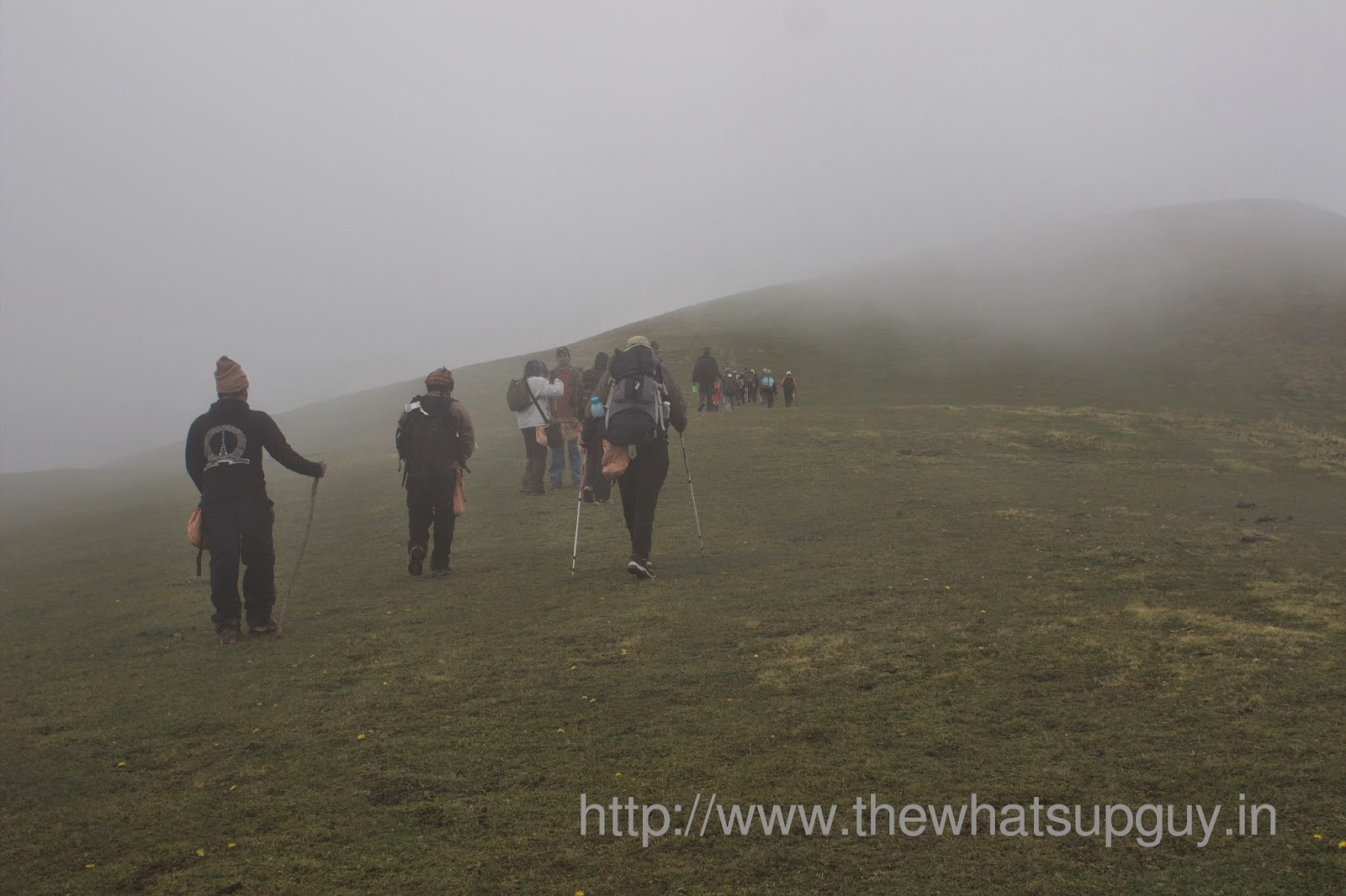 Trekking-In-Cloud-Roopkund-Trek-With-India-Hikes-Day-2