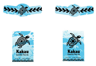 Kakau Hawaiian Pale Ale Packaging First Draft