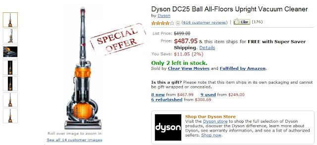 Dyson DC25 Coupon