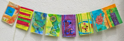 Creative Circle prayer flag workshop