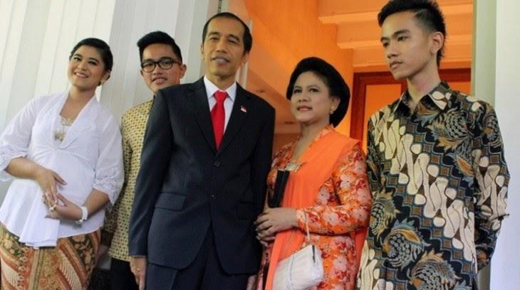Kumpulan Foto Keluarga Jokowi