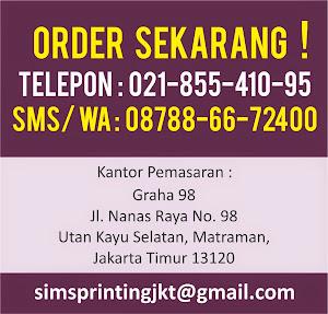 Order Cetak Brosur Sekarang !