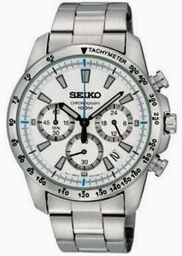 SEIKO Chronograph SSB025PC Men's Watch