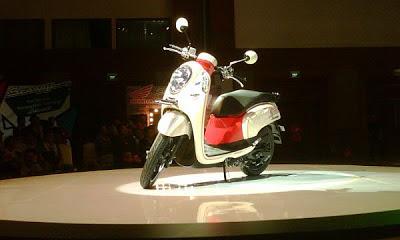 Spesifikasi dan Harga Honda Scoopy FI 2013