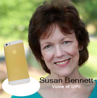 Susan Bennett - The original voice of SIRI