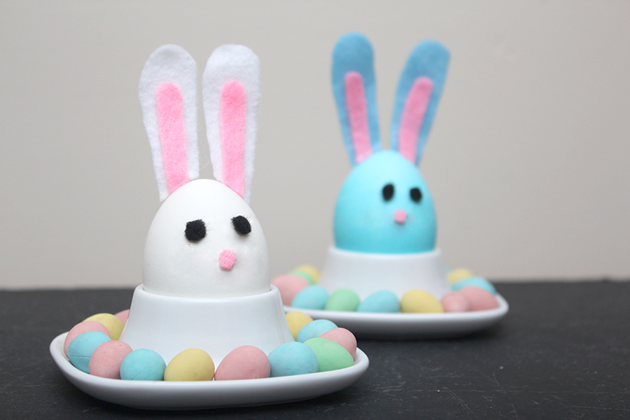 Diy Easter Bunny Hard Boiled Eggs Xfallenmoon
