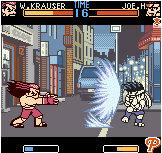 Fatal Fury sur NeoGeo Pocket Color