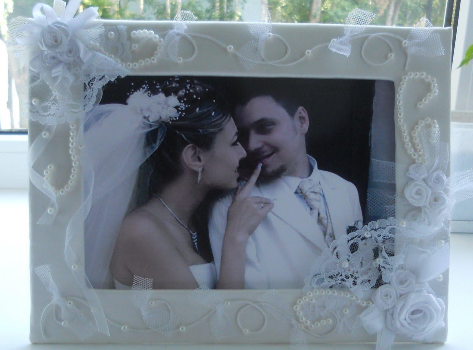 Фоторамки для свадебных фотографий своими руками