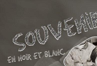 Scrap photoshop Effet craie tableau noir - Clin d'oeil Design
