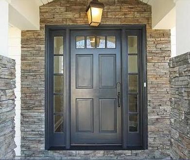 Fotos y dise os de puertas puertas correderas para exterior for Puertas metalicas modernas para exterior