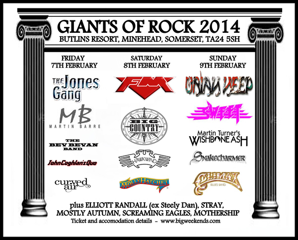 FM at Giants of Rock 8 Feb 2014