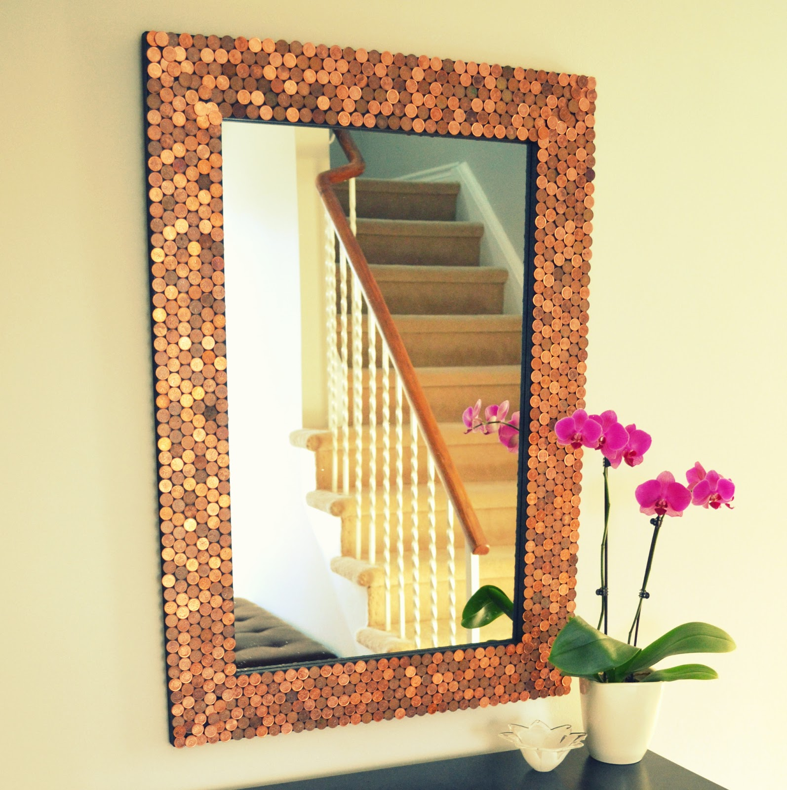 Penny Tiled Mirror