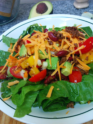 http://allrecipes.com/recipe/taco-salad-with-lime-vinegar-dressing/detail.aspx