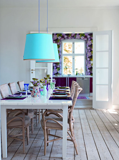 Belle maison runway inspired dining room for Belle maison interieur design