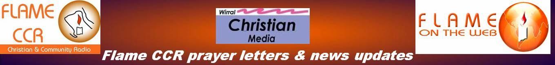 Flame CCR prayer & news updates