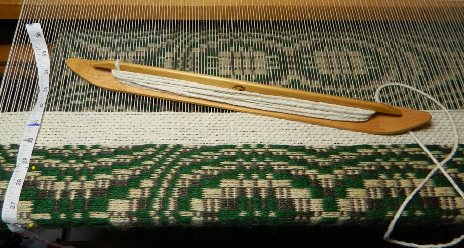 how to close off the end of a loom