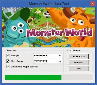 Monster World Hack