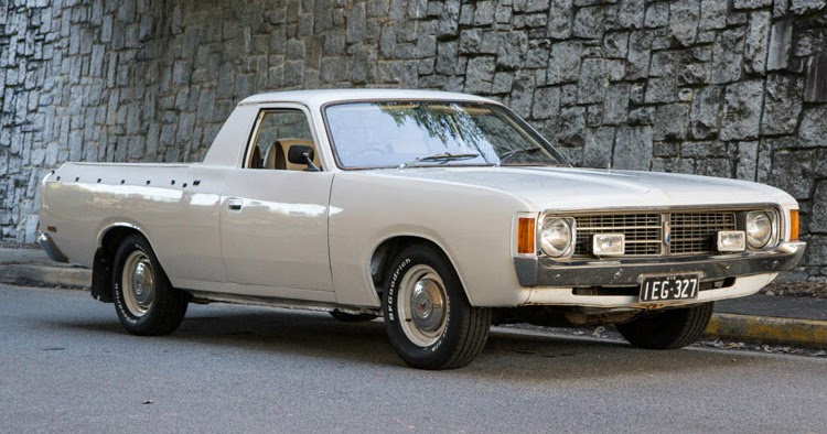 1975 chrysler valiant rhd australian ute for sale in the usa. Black Bedroom Furniture Sets. Home Design Ideas
