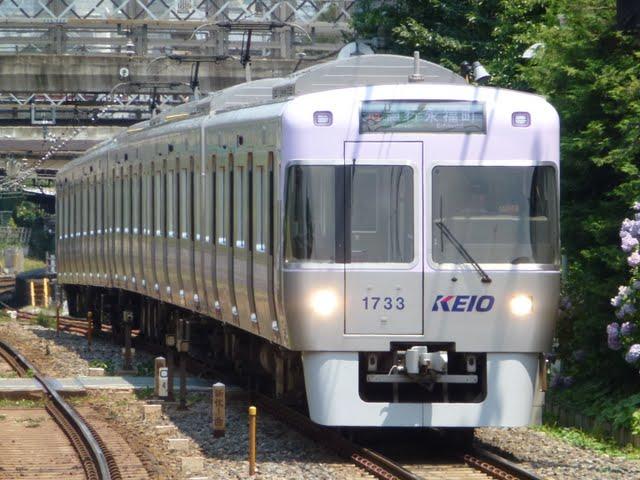 京王電鉄 急行 永福町行き 1000系5・6次車バイオレット