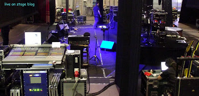 regia di palco EelST 2012 live on stage