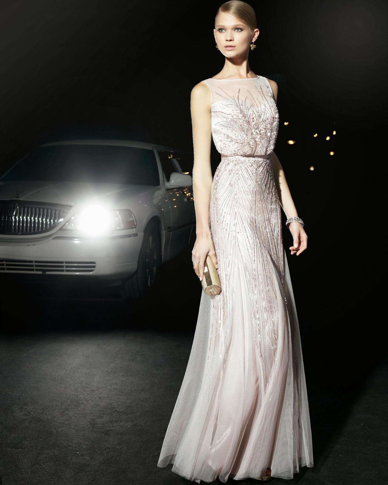 Uzun kollu abiye elbise modelleri 11 pictures - Ta L 2014 Abiye Modeli Straplez Uzun Kemerli
