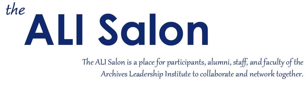 The ALI Salon | The Archives Leadership Institute | ALI@Luther