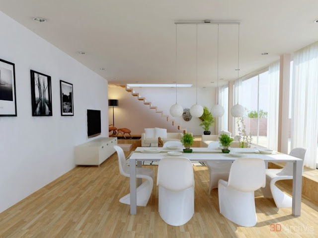 Living salle manger for Living salle a manger