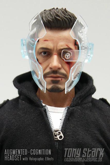 Toyhaven Hot Toys 1 6 Scale Iron Man 3 Tony Stark The