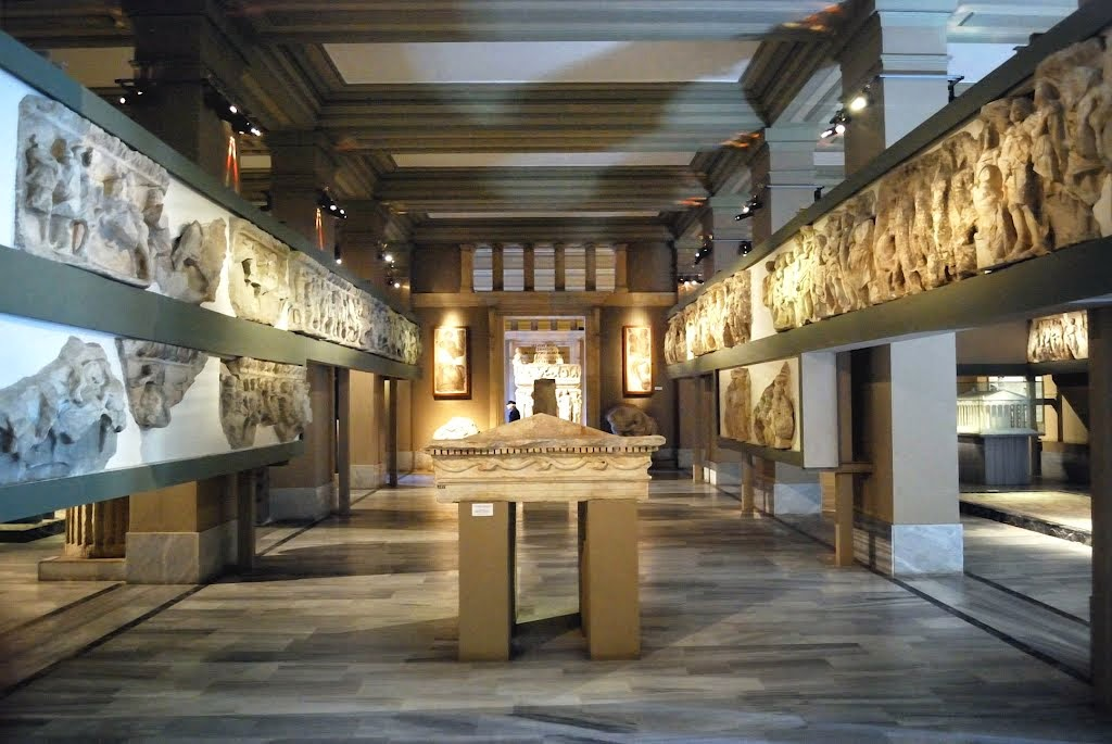 archaeology museum Recent, current, and upcoming museum exhibitions announcements, and brief descriptions of recent, current, and upcoming museum collections, exhibitions, and resultant catalogues and publications, with links to relevant web pages.