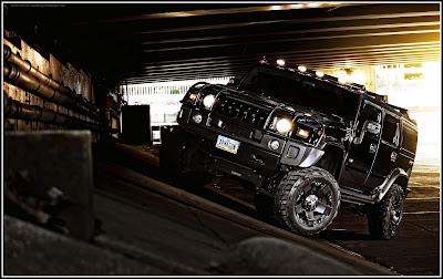 Black Hummer Modification - Hummer Cars Modification wallpaper