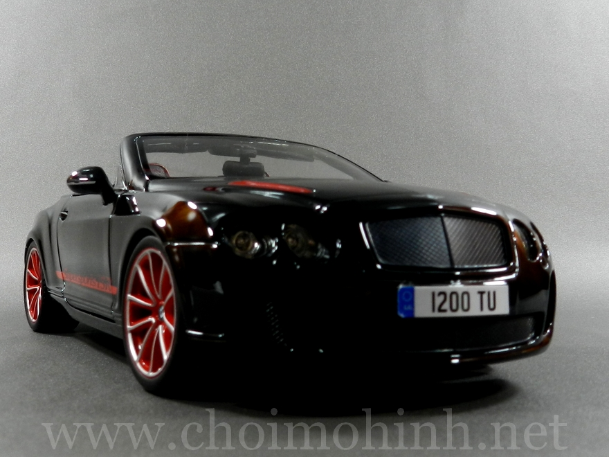 Bentley Continental Supersports Convertible ISR 1:18 bBurago