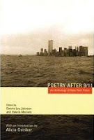 Book cover, showing a view of lower Manhattan from the New York Harbor, showing the Twin Towers still standing.