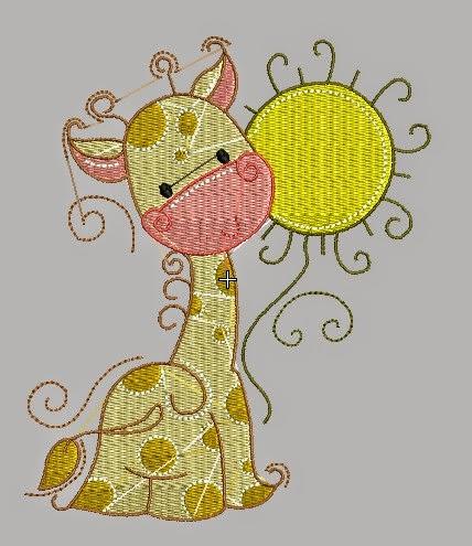 Download Free Giraffe Design Machine Embroidery ~ Download Free Designs Embroidery