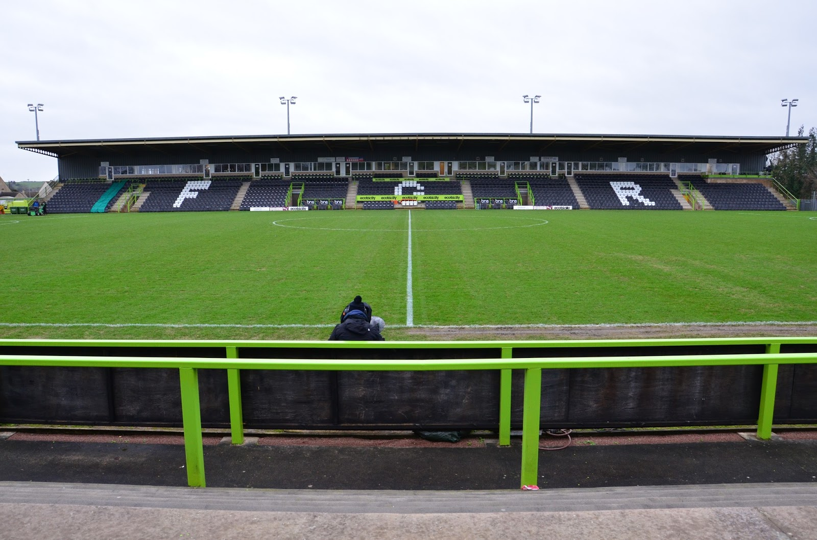 Extreme Football Tourism: ENGLAND: Forest Green Rovers FC