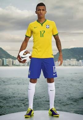 uniforme da seleção brasileira 2014