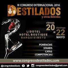 III CONGRESO INTERNACIONAL DE DESTILADOS