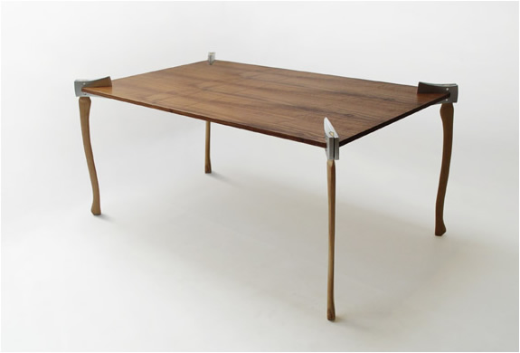 Druther: Woodsman Axe Coffee Table